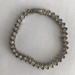 """Jewelry - Sterling silver bracelet 7"""" long"""